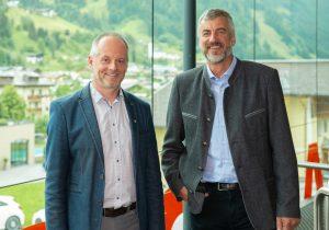 Josef Gruber und Manfred Millinger